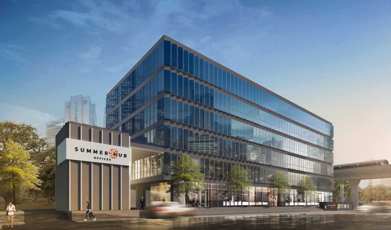 Summer Hub Offices 80% Pre-Leased