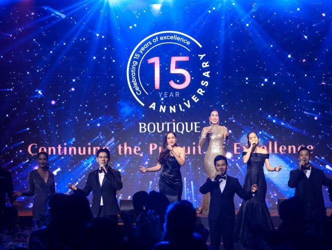 Boutique Corporation Celebrates 15 Years of Business Excellence with a Glamorous Gala Dinner